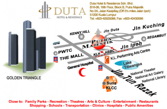 Duta Hotel and Residence at Putra Majestik